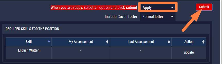 SkillsCharts   Apply Cover Letter