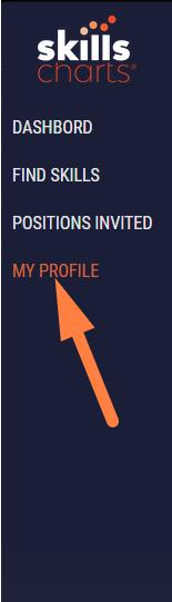SkillsCharts   My Profile Link