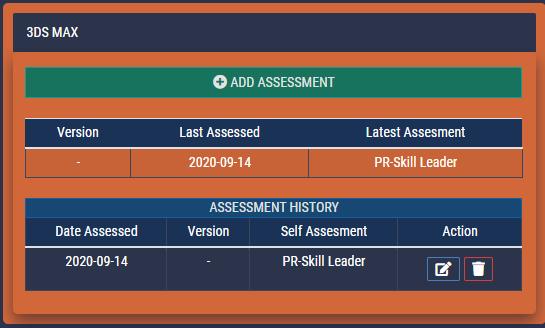 SkillsCharts   Skill Save Assessment